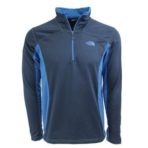 The North Face 100 Cinder 1/4 Zip Cosmic Blue XL